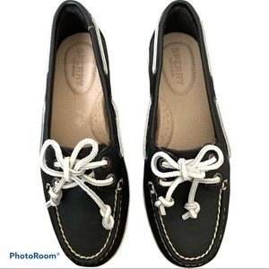 NEW! SPERRY Blue Firefish Core Leather Boat Shoe 5